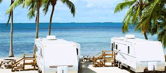 RV parking on the beach
